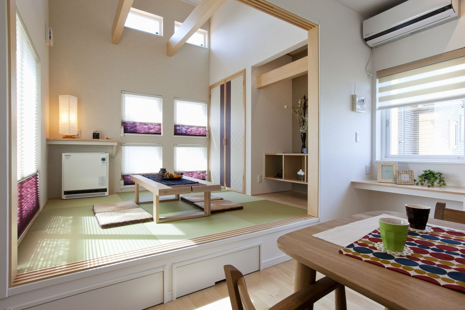 ハウスM21「家族との楽しい時間、読書や一人の時間も大切にできるプランニング」和室写真