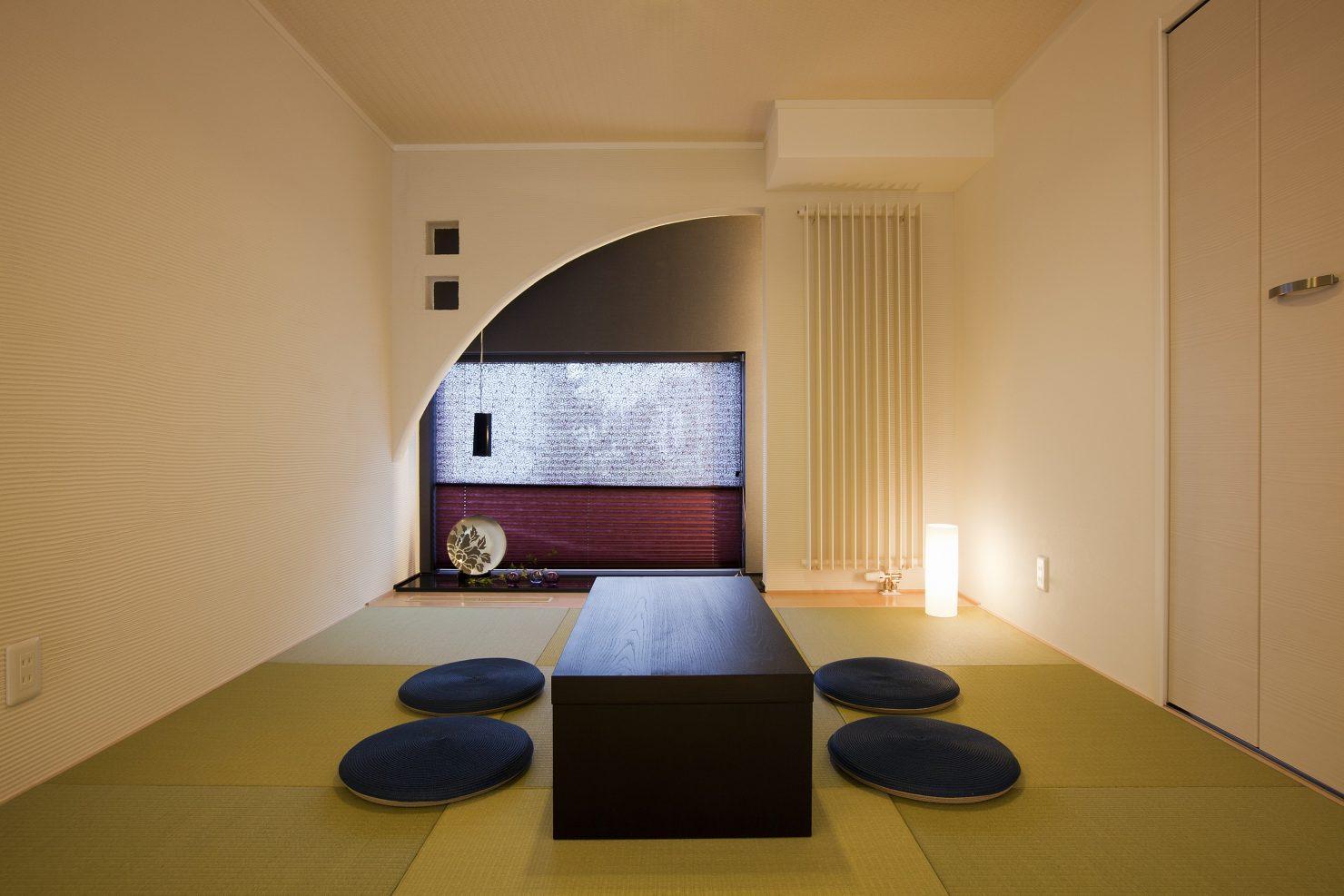 ハウスM21「行き止まりのないオールラウンドスタイル」和室写真
