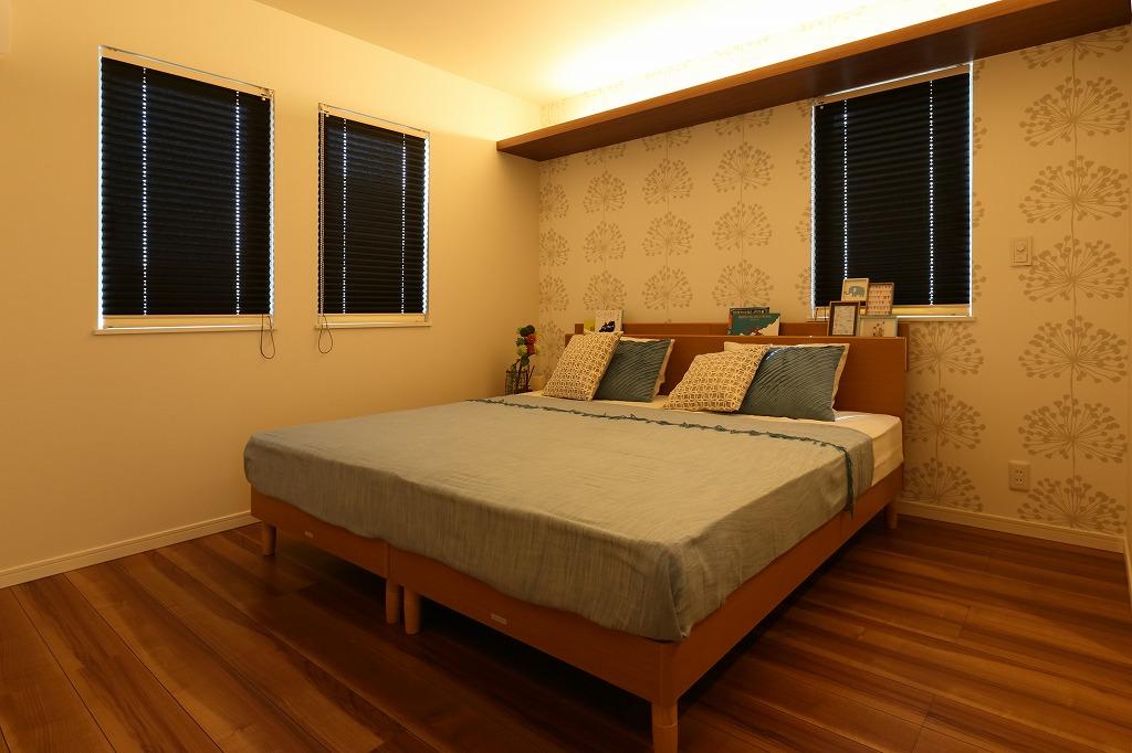 ハウスM21「子供を規則正しい生活習慣へ導く住まい」寝室写真