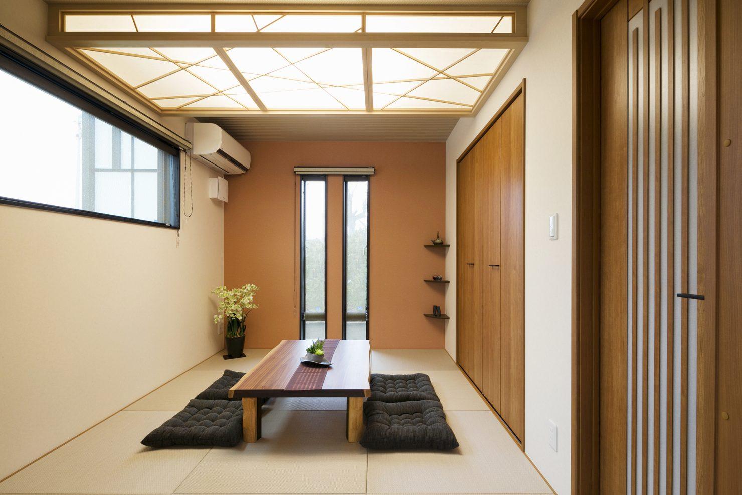 ハウスM21「豊かさと快適さの追求」和室写真