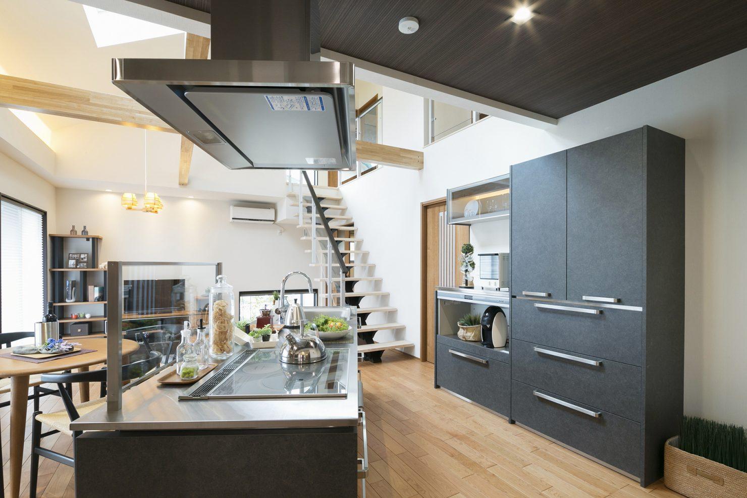 ハウスM21「豊かさと快適さの追求」キッチン写真