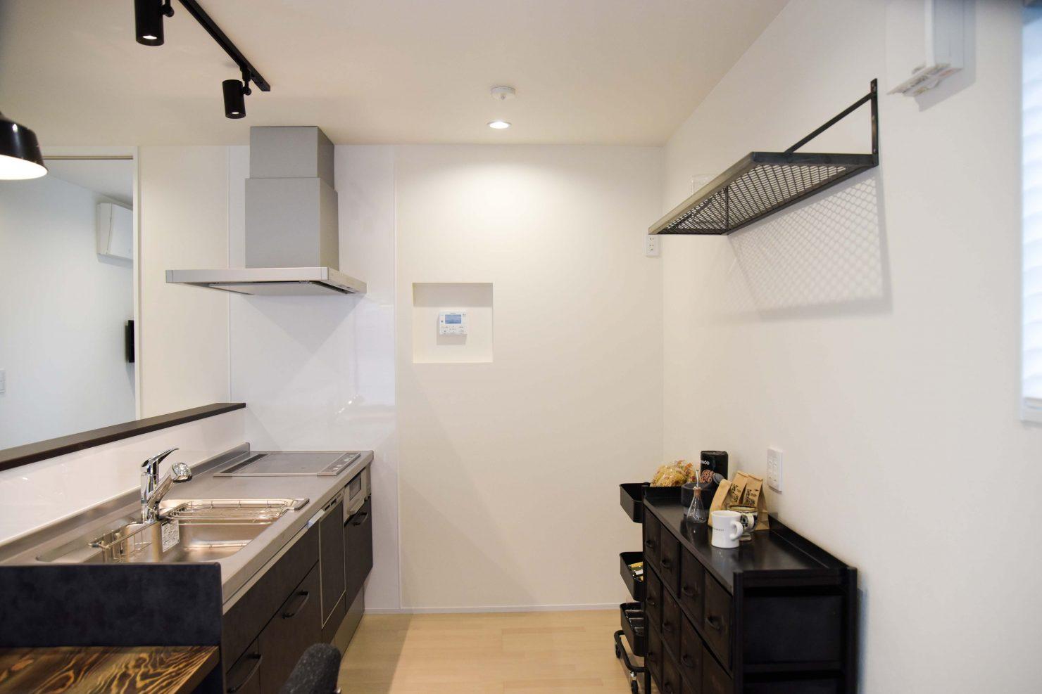 ハウスM21+fast「クロノイエ」キッチン写真