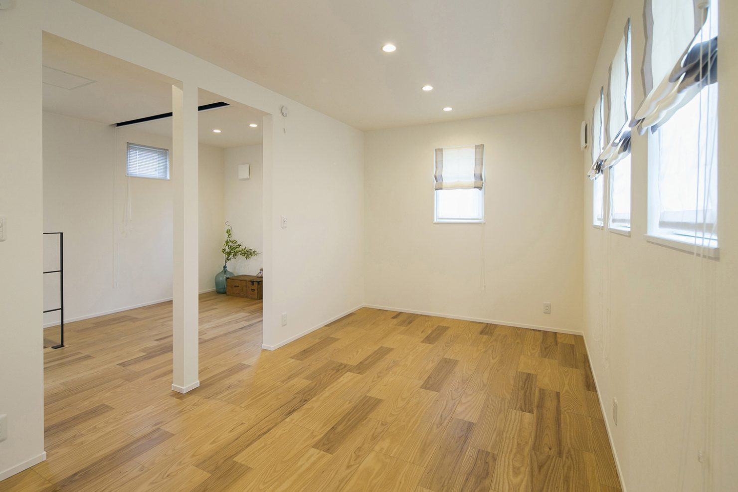 ハウスM21「時代に即した新たな形の「平屋」空間」子供室写真