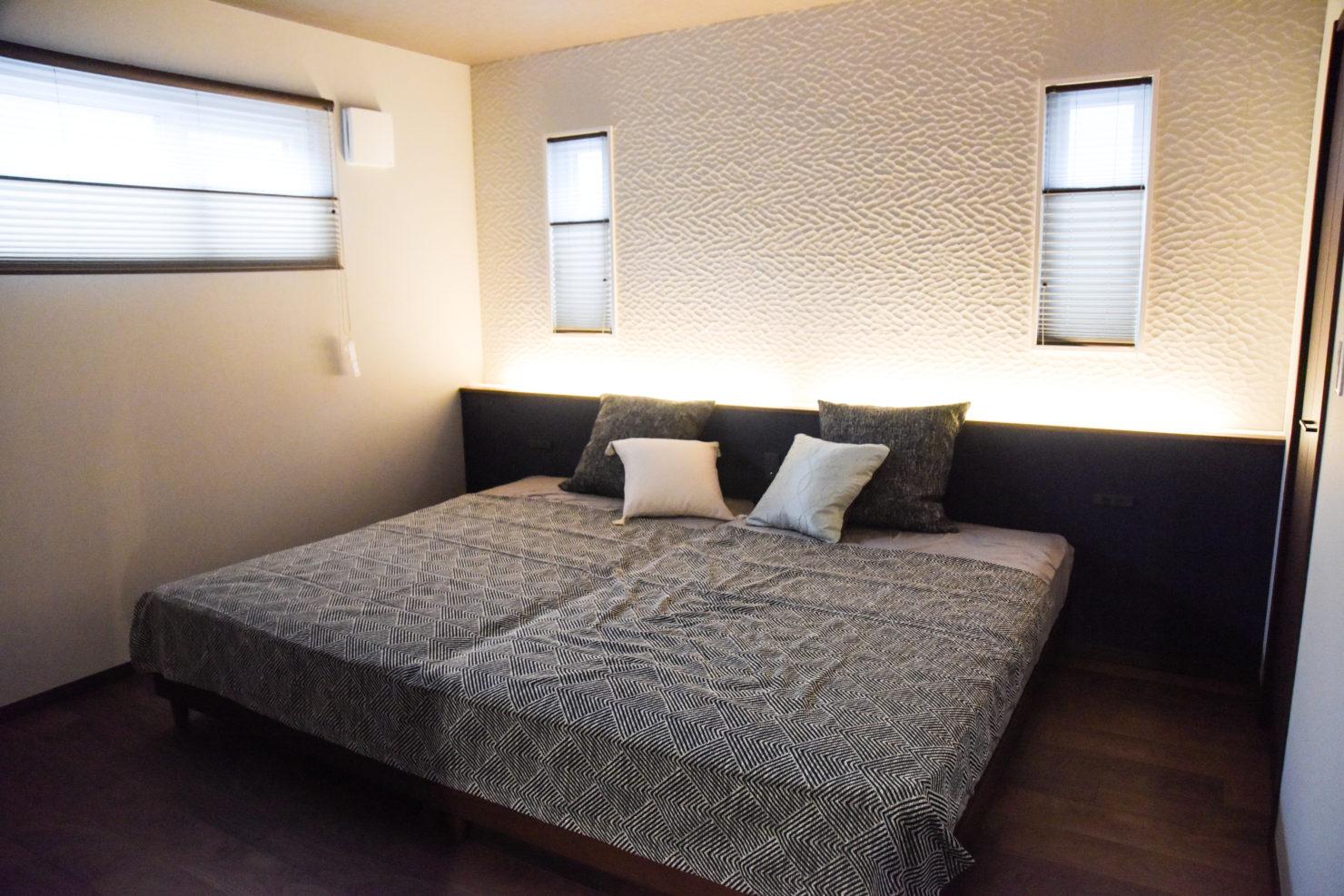 ハウスM21「仲間が集う場所」寝室写真