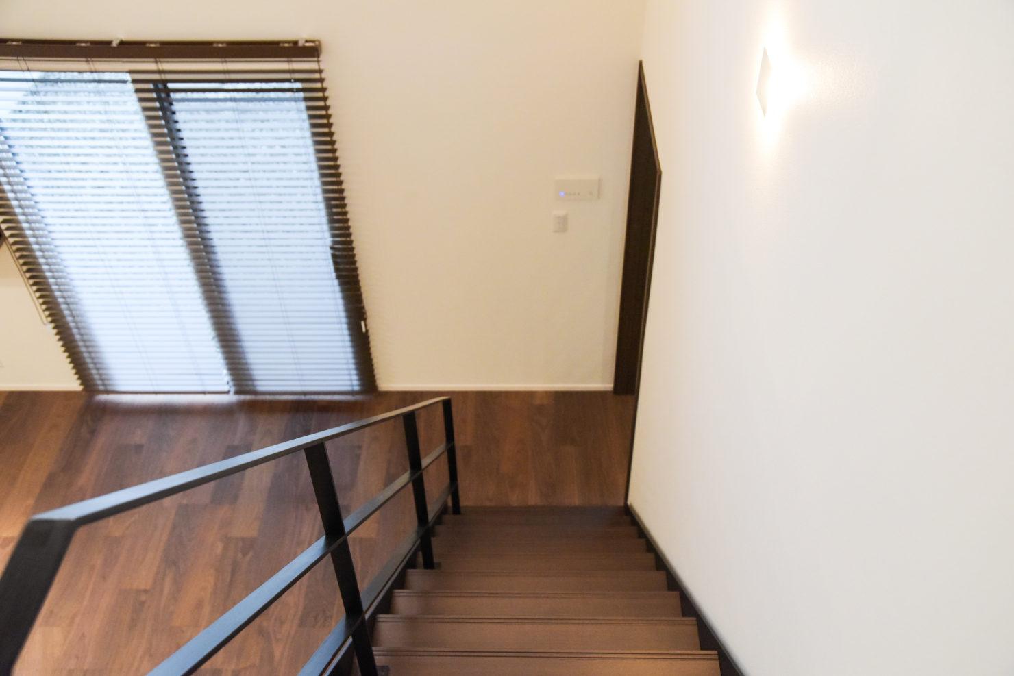 ハウスM21「仲間が集う場所」階段写真