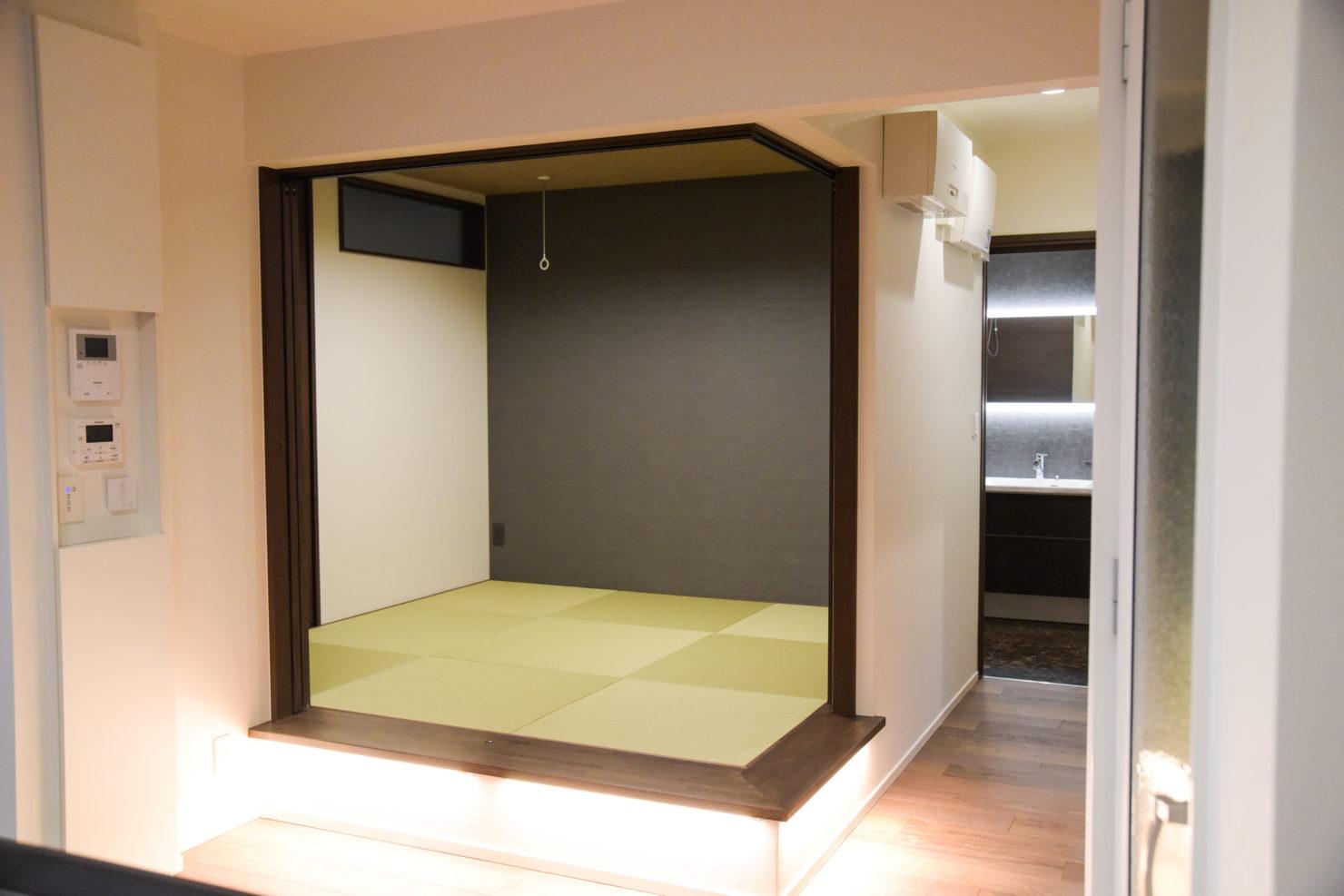 ハウスM21「仲間が集う場所」和室写真