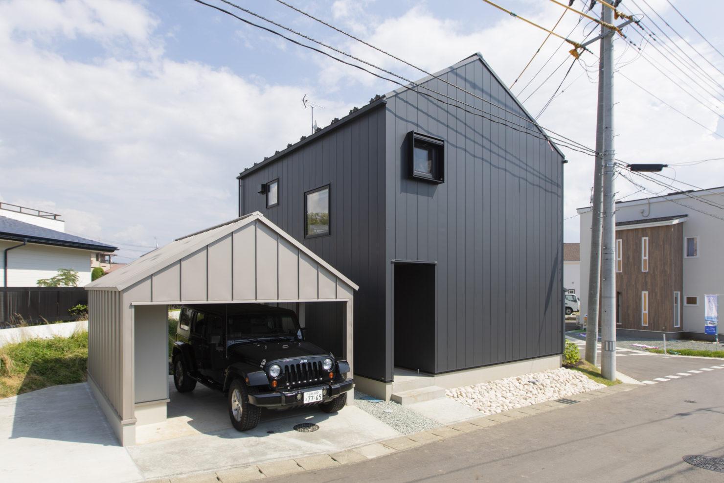 ハウスM21 盛岡市高松建売住宅 外観写真