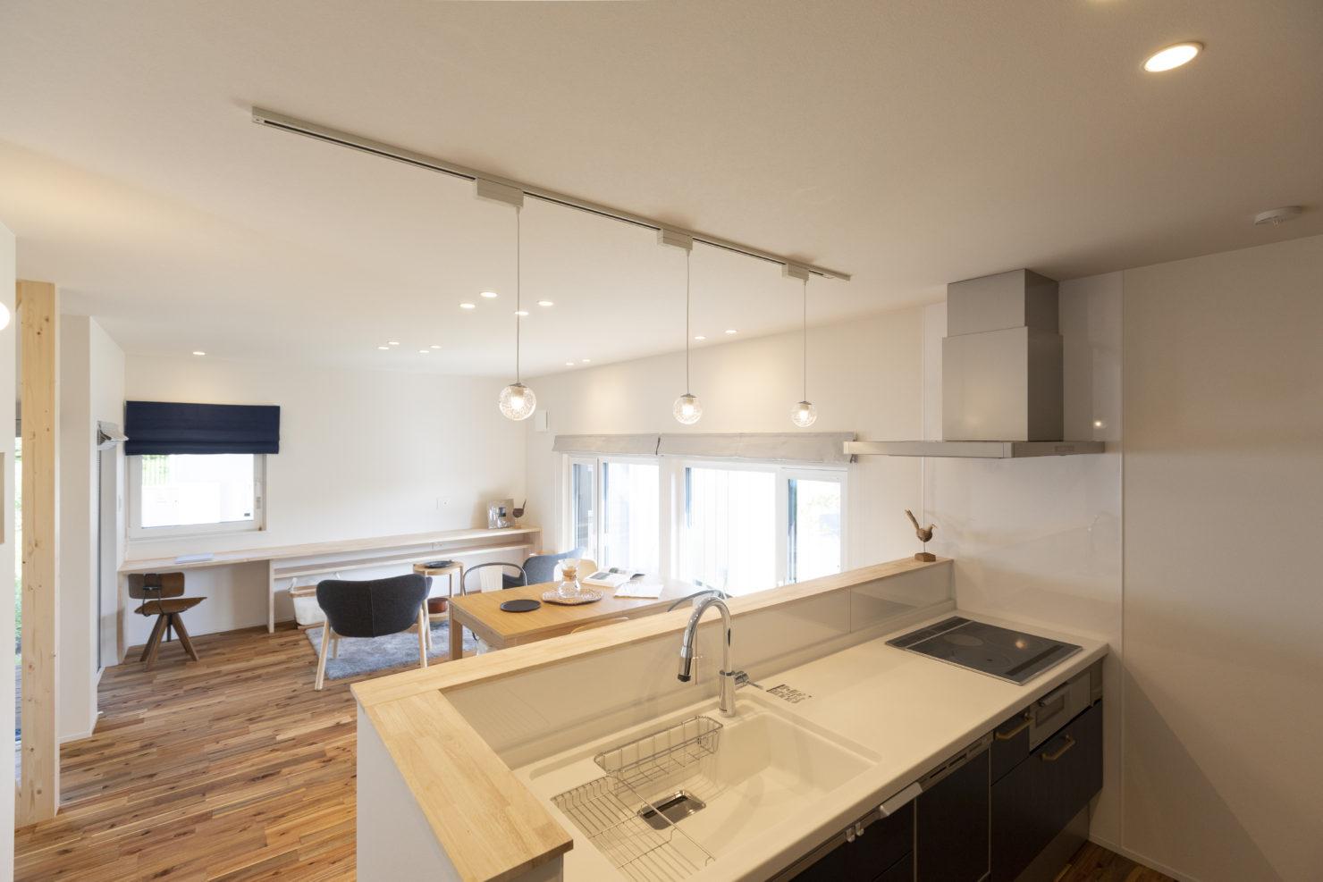 ハウスM21 盛岡市高松建売住宅 キッチン写真