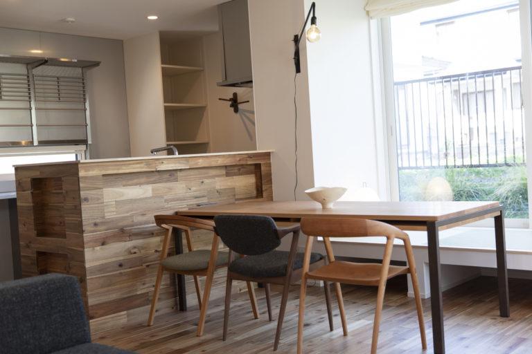 ハウスM21+archi「すきなものと暮らす」ダイニングキッチン写真