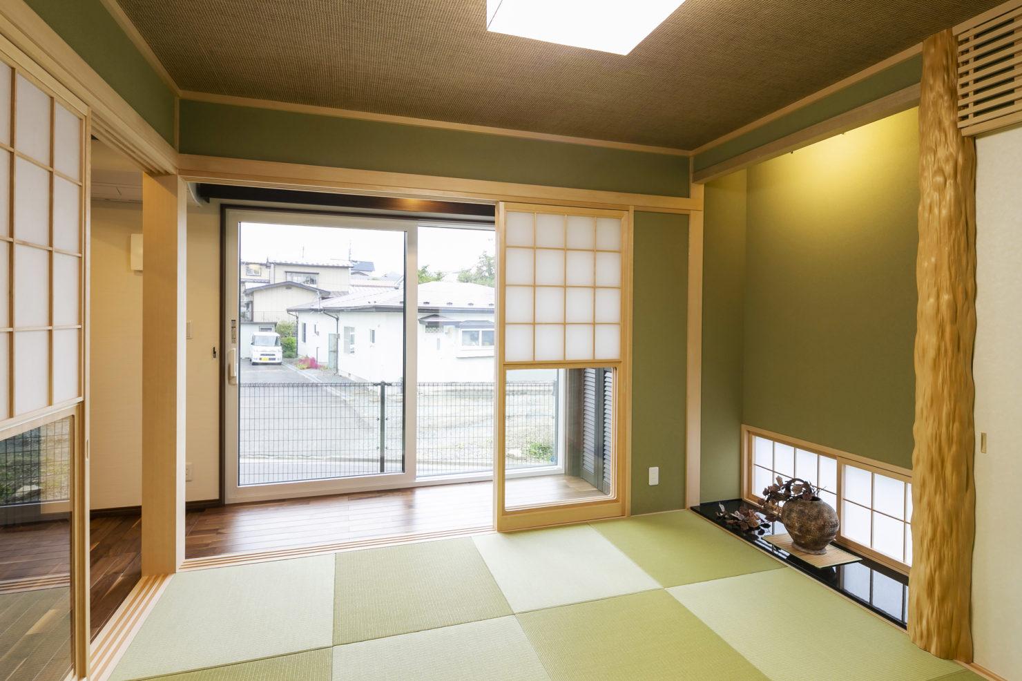 ハウスM21「「自分らしく」暮らす、もてなす」和室写真