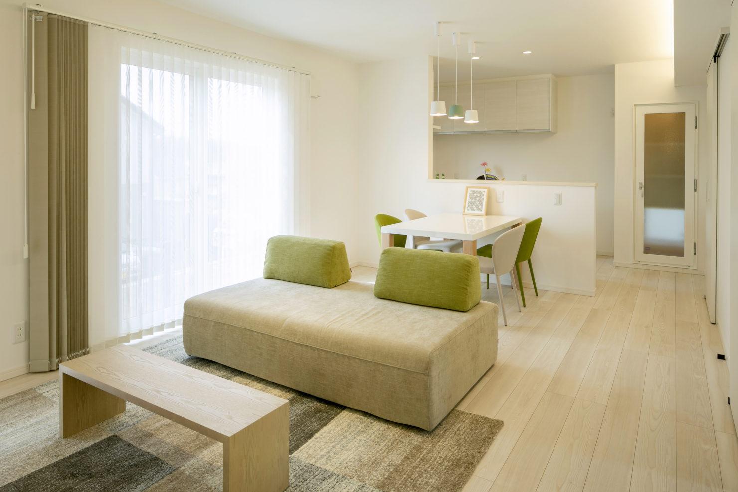 ハウスM21 盛岡市黒石野建売住宅 リビング写真