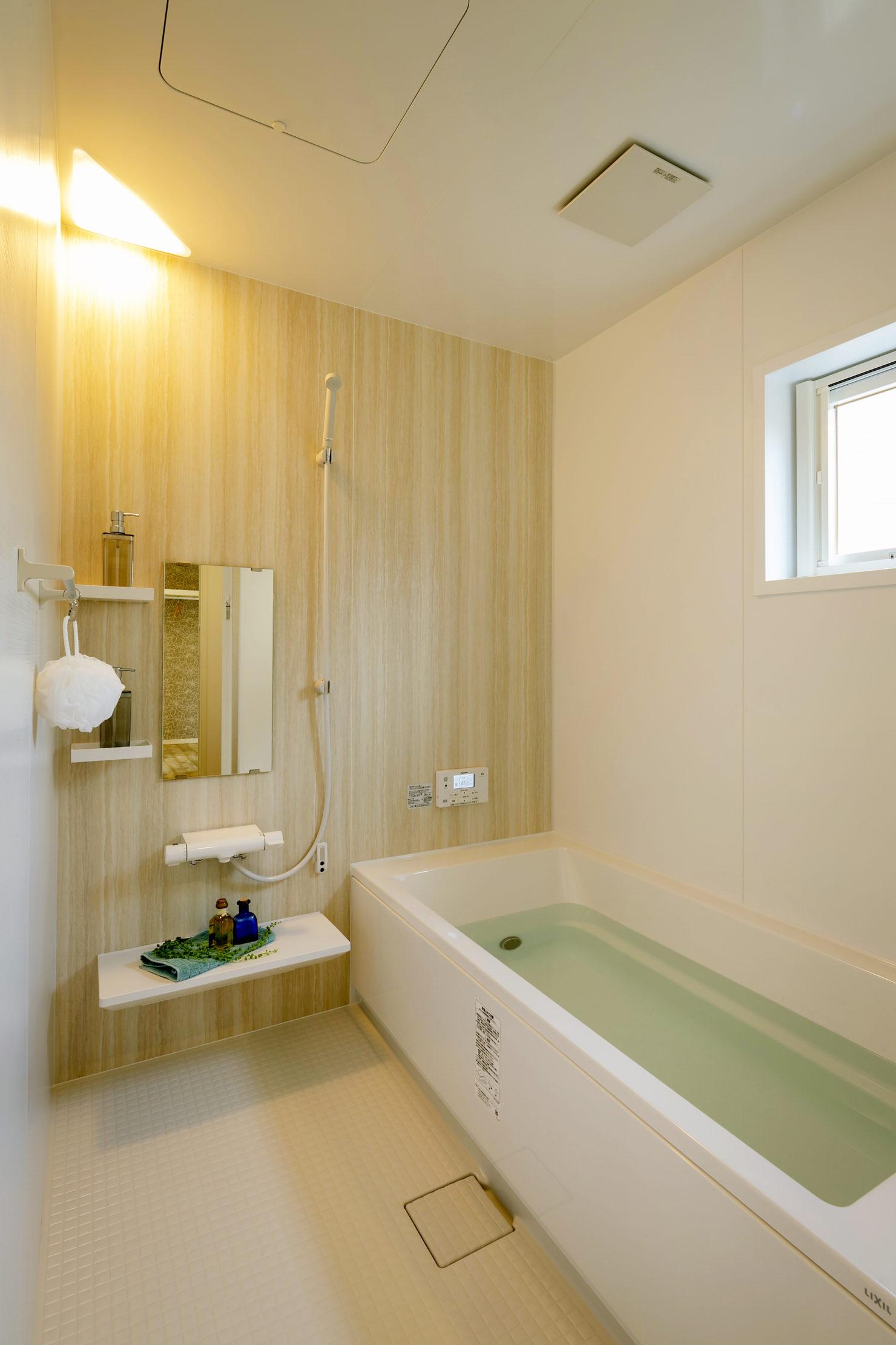 ハウスM21 盛岡市黒石野建売住宅 浴室写真