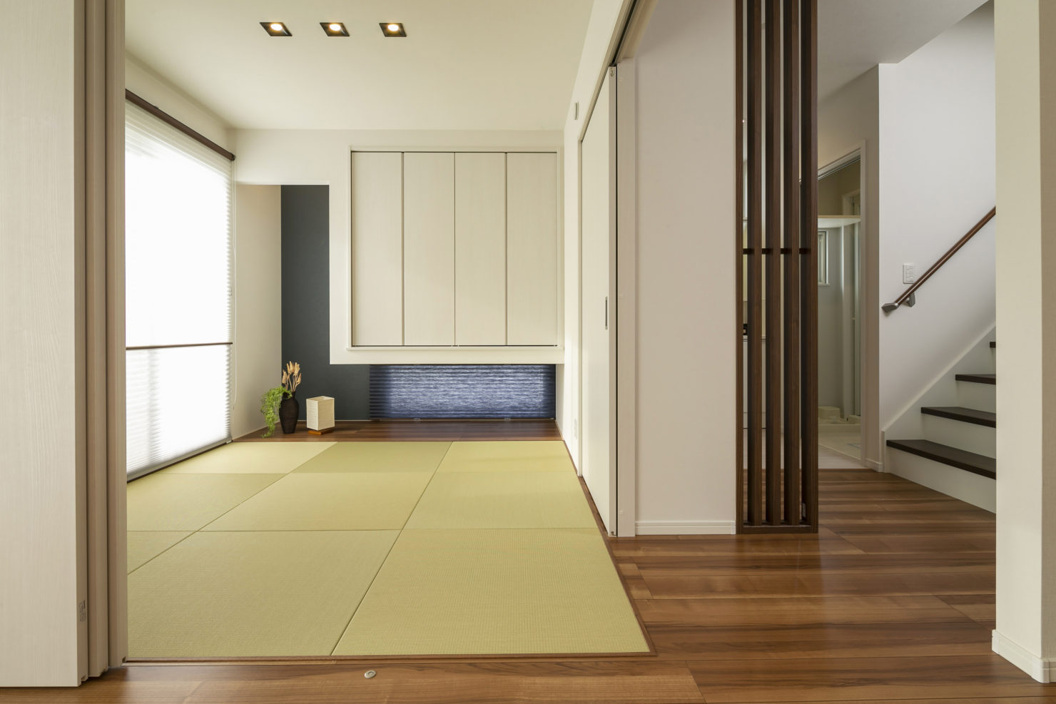 ハウスM21「子育てしやすい住まい」和室写真