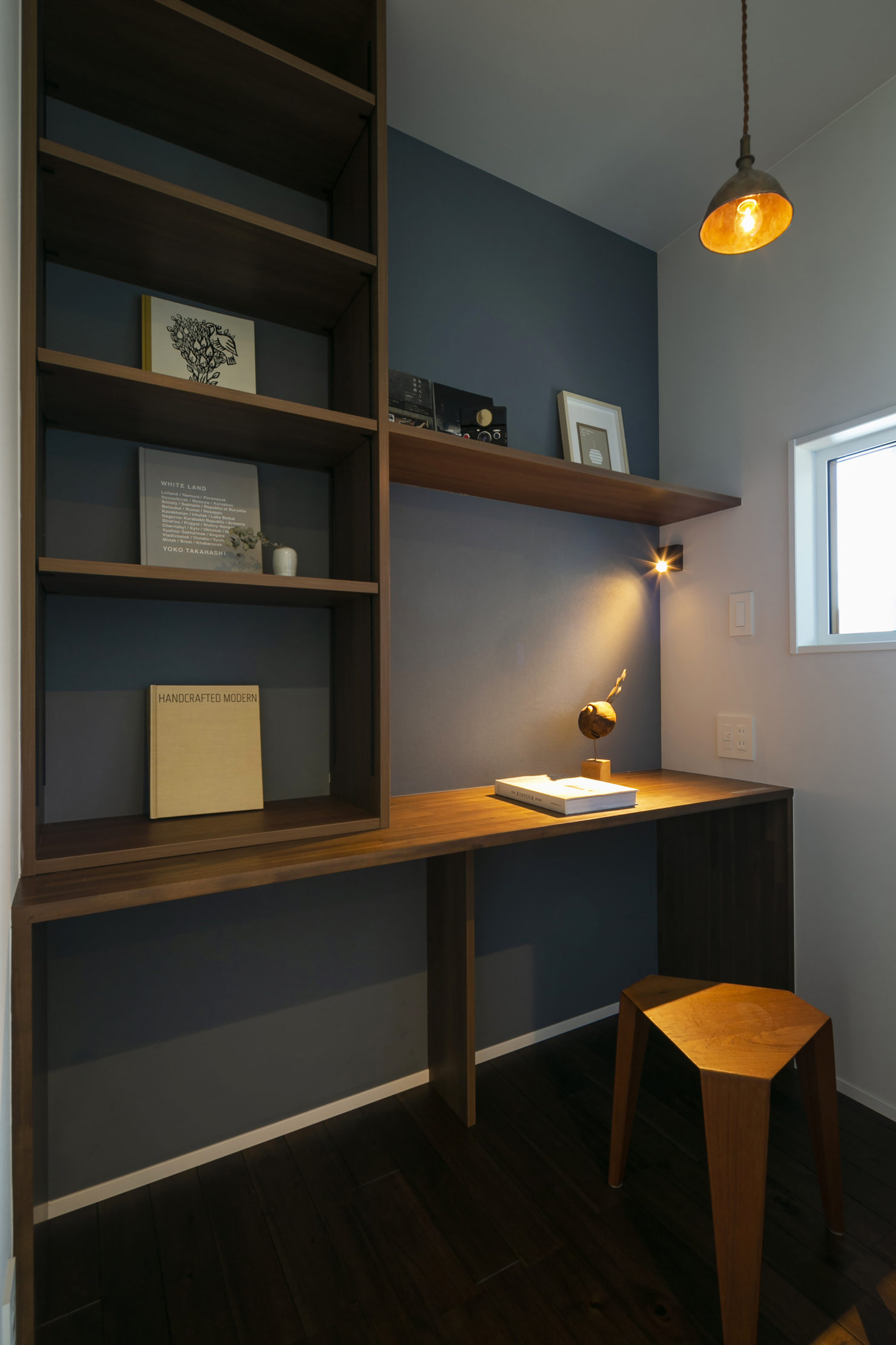 ハウスM21+archi「周囲と調和する個性的な住まい」書斎写真