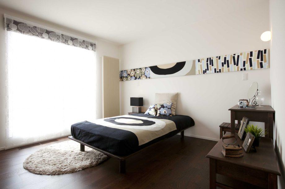 ハウスM21 向中野モデルハウス 写真「寝室」