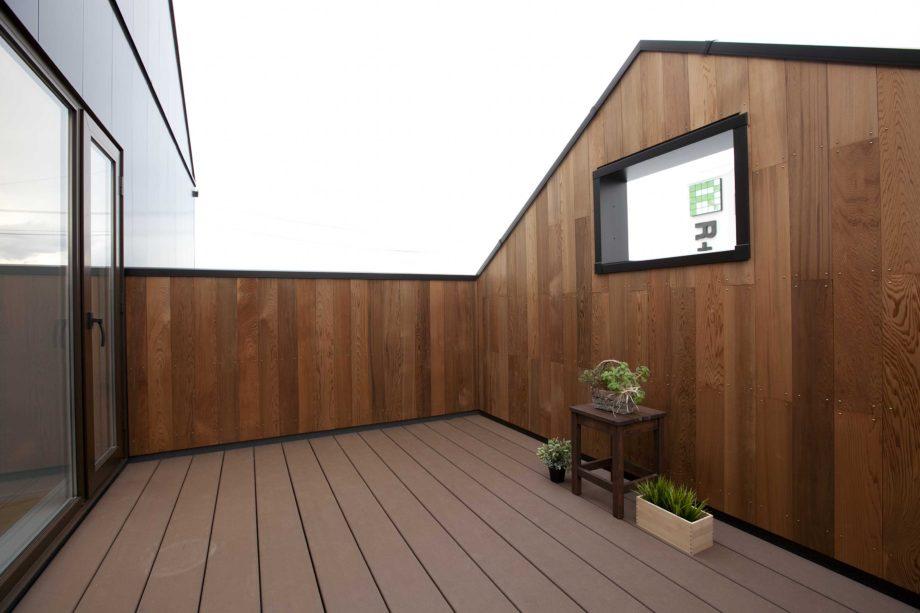 ハウスM21 向中野モデルハウス 写真「バルコニー」