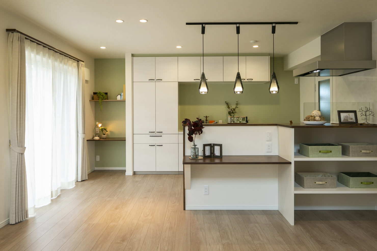 ハウスM21「片付けの習慣化でゆとりのある暮らし」キッチン写真