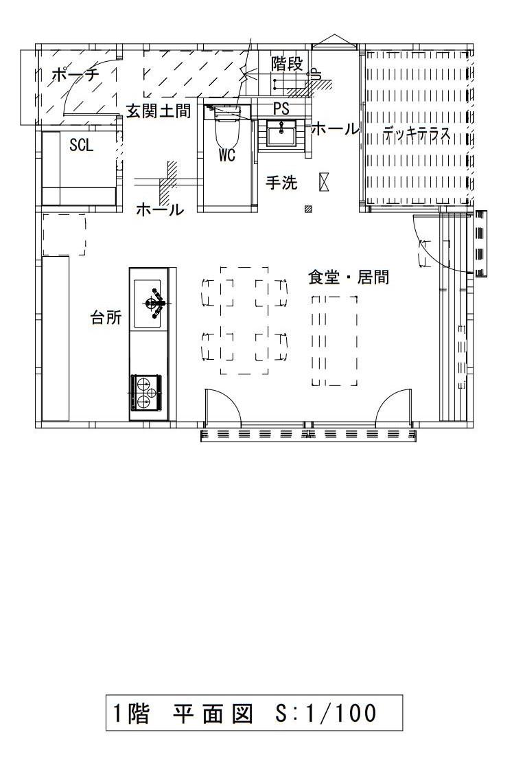 ハウスM21 盛岡市高松建売住宅 1F図面