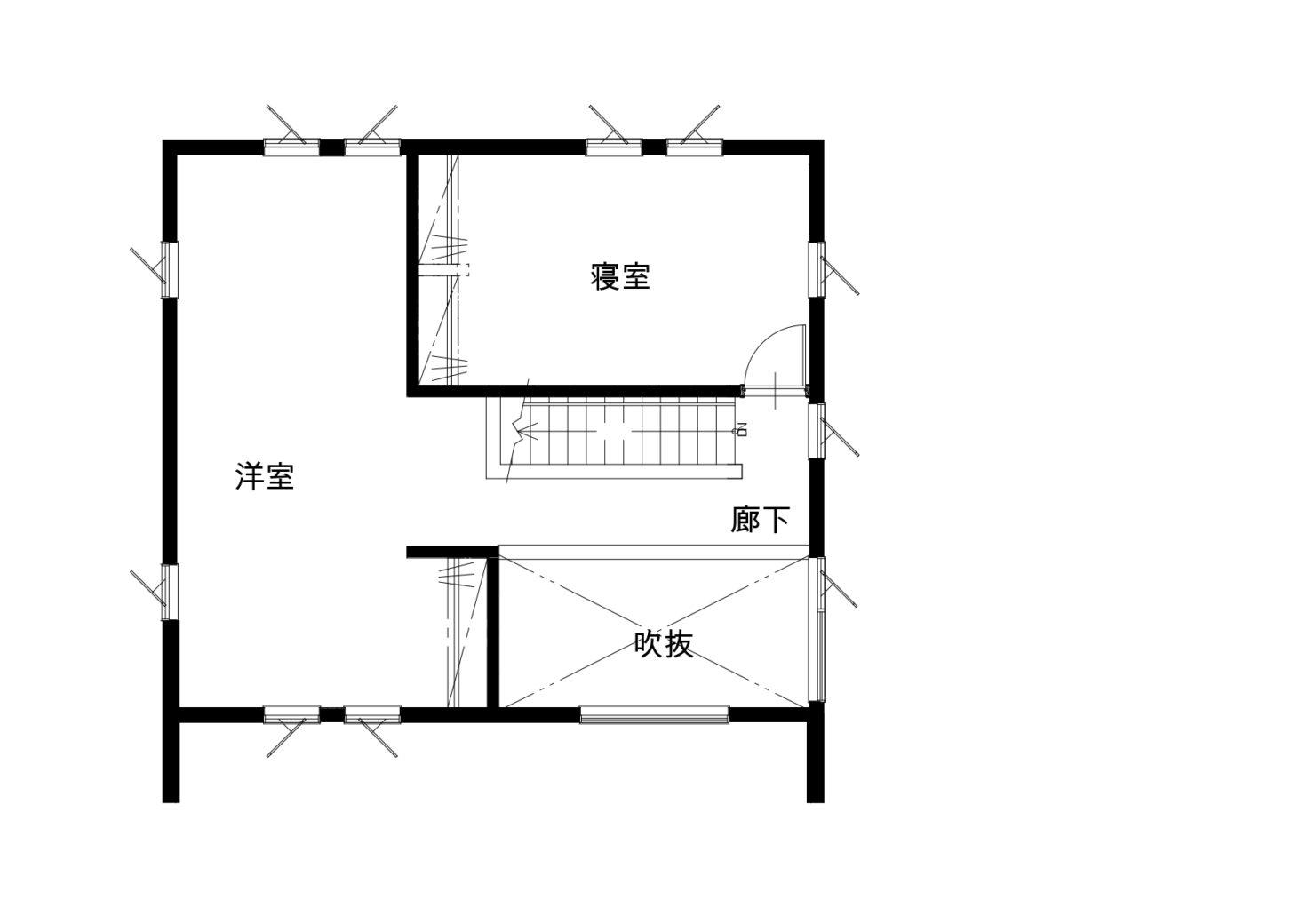 ハウスM21 北上市村崎野建売住宅 2F図面
