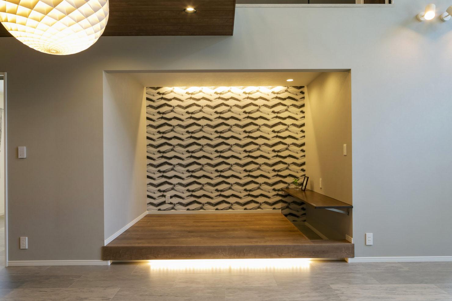 ハウスM21「3世代で快適に暮らすインナーガレージ併設住宅」和室写真