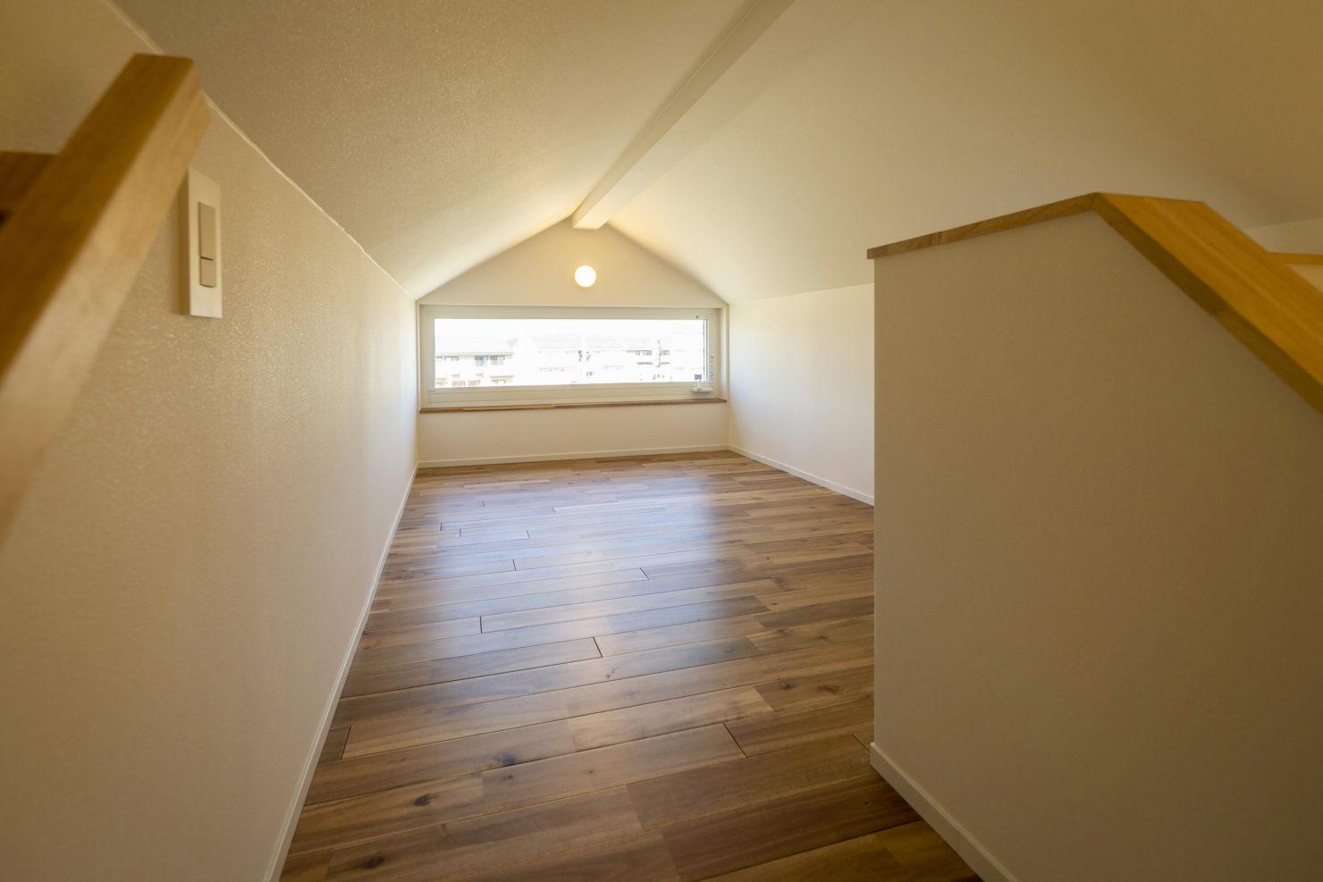 ハウスM21+archi「周囲との関係性・持続性のあるデザイン」小屋裏写真