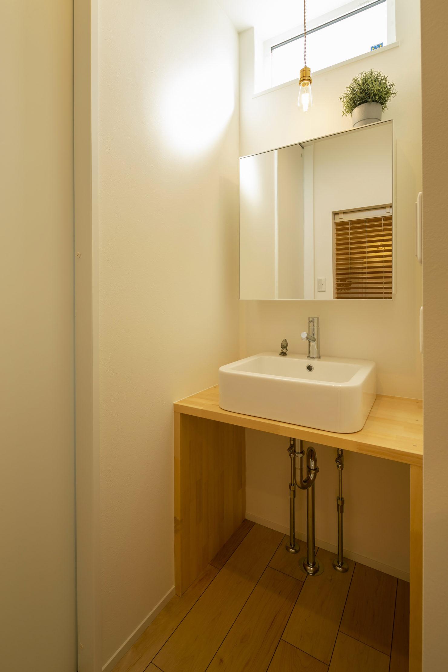 ハウスM21 北上市村崎野建売住宅 洗面写真