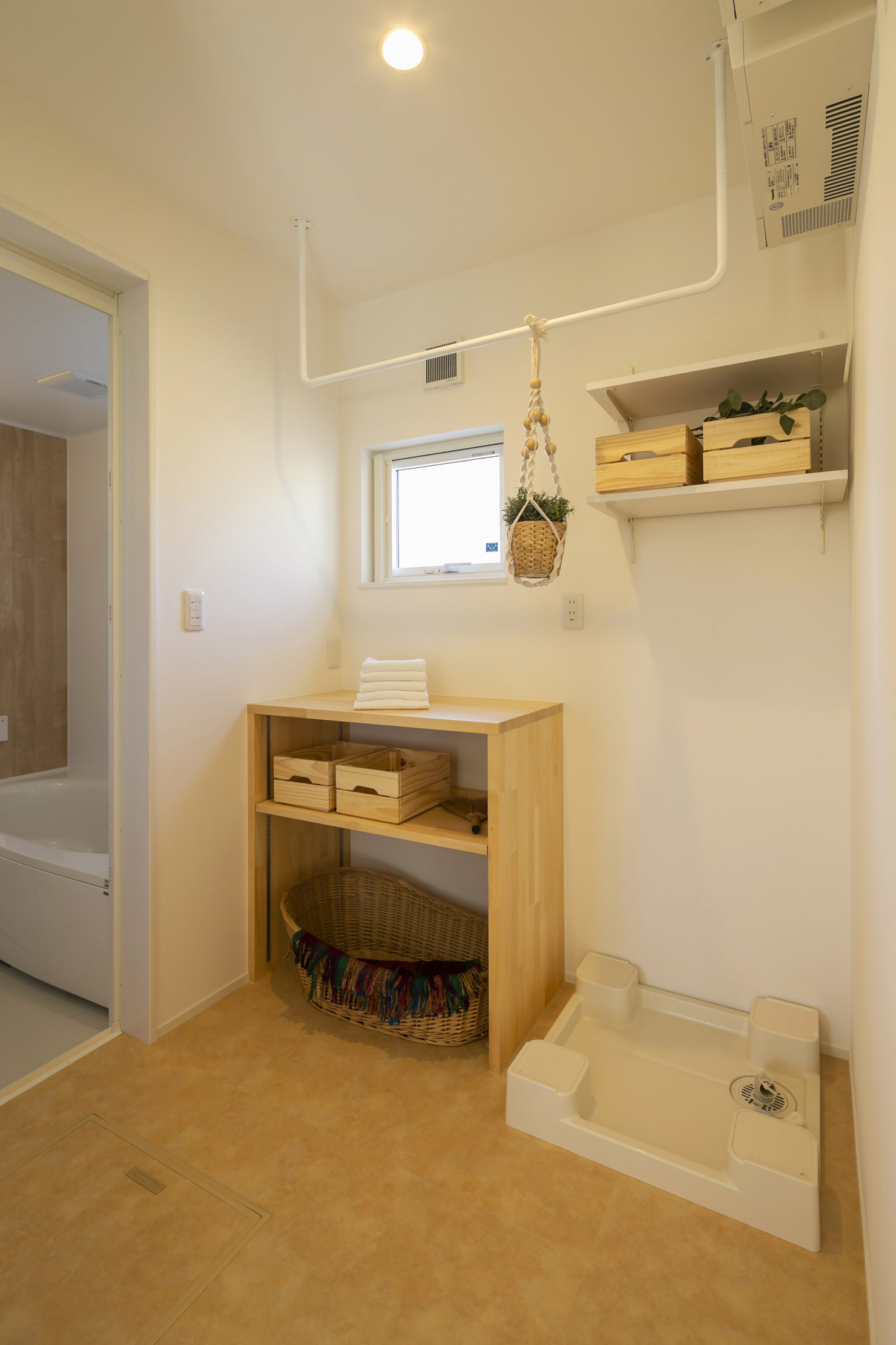 ハウスM21 北上市村崎野建売住宅 脱衣室写真