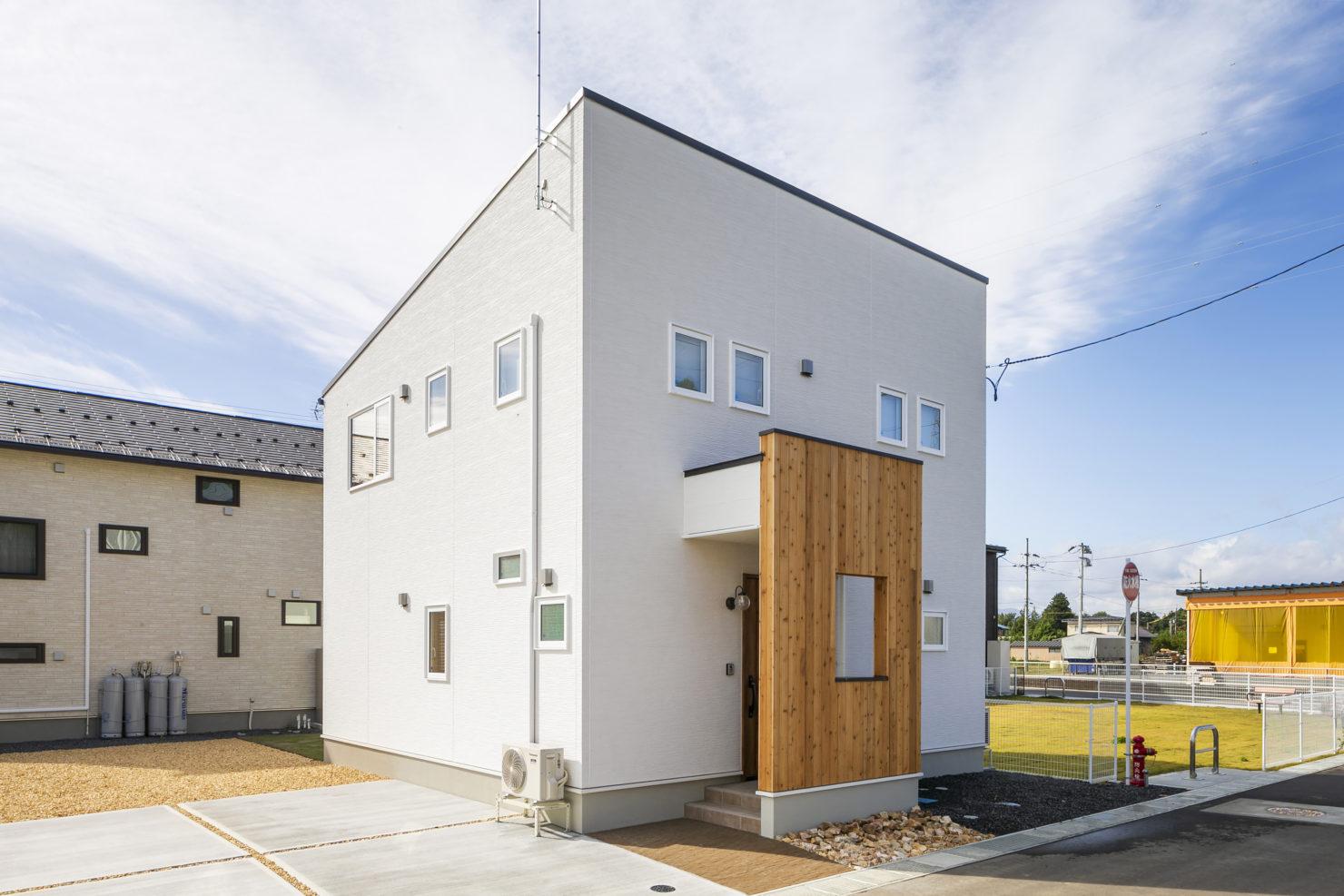 ハウスM21 北上市村崎野建売住宅 外観写真