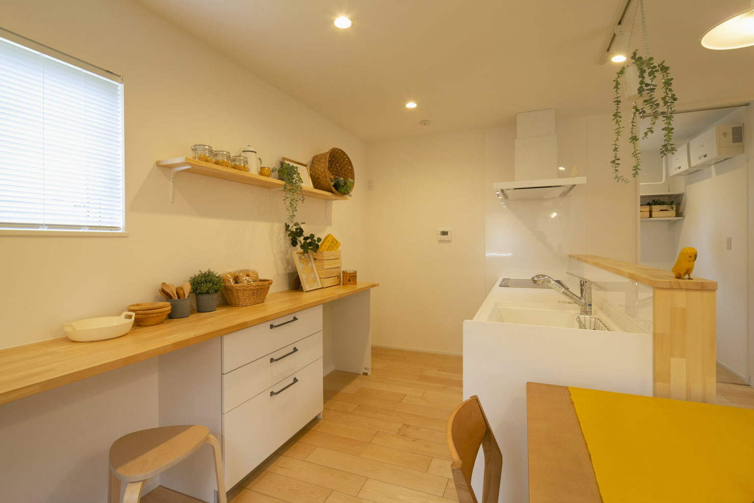 ハウスM21 北上市村崎野建売住宅 キッチン写真