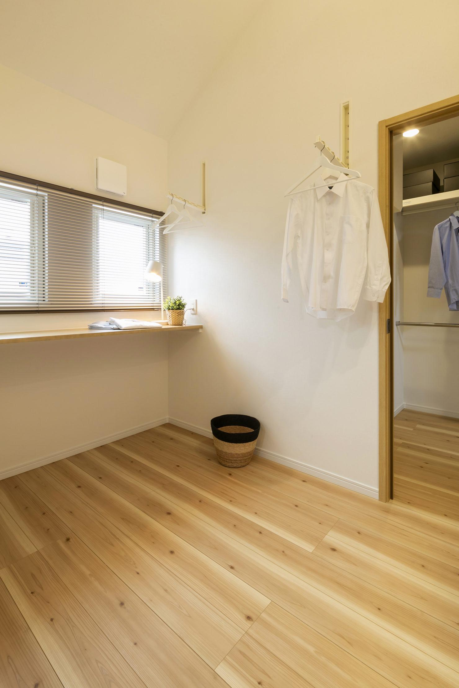 ハウスM21「各階で完結する収納計画が時間のゆとりをもたらす」サンルーム写真