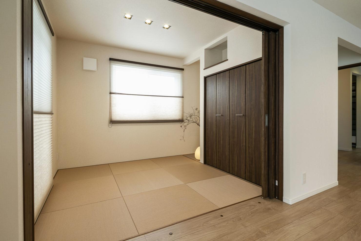 ハウスM21「各階で完結する収納計画が時間のゆとりをもたらす」和室写真