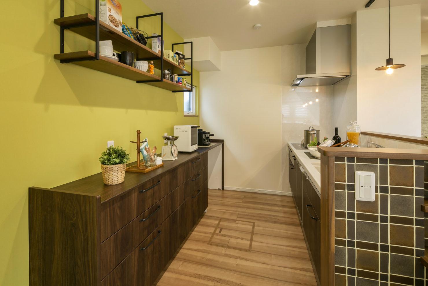 ハウスM21 施工例 キッチン